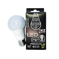 Лампа светодиодная серии PREMIUM 7W цоколь Е27 - 3000К-Теплый белый свет