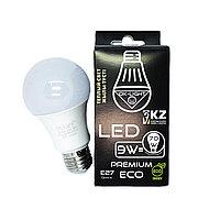 Лампа светодиодная серии PREMIUM 9W цоколь Е27 - 3000К-Теплый белый свет
