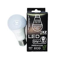 Лампа светодиодная серии PREMIUM 9W цоколь Е27 - 4100К-Натуральный белый свет