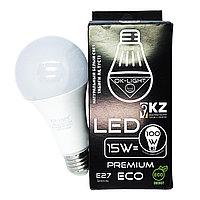 Лампа светодиодная серии PREMIUM 15W цоколь Е27 - 4100К-Натуральный белый свет