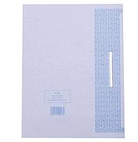 Папка-скоросшиватель картонная KUVERT, А4 формат, 260 гр, белая, фото 3