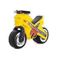 "Каталка-мотоцикл ""МХ"" (жёлтая)"