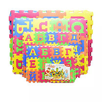 """Коврики пазлы """"Изучаем буквы"""" для детей, фото 2"""