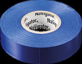 Изолента NIT-B15-10/B синяя 71 233 Navigator
