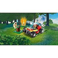 LEGO City 60247 Лесные пожарные, конструктор ЛЕГО