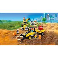 LEGO City 60252 Строительный бульдозер, конструктор ЛЕГО