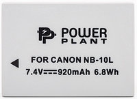 Аккумулятор для Canon NB-10L (PowerPlant) 920mAh, фото 1