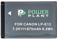 Аккумулятор для Canon LP-E12 (PowerPlant) 875mAh, фото 1