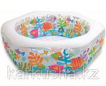 """Детский надувной бассейн """"Аквариум"""" Intex"""