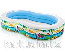 """Детский надувной бассейн """"Лагуна"""" Intex"""