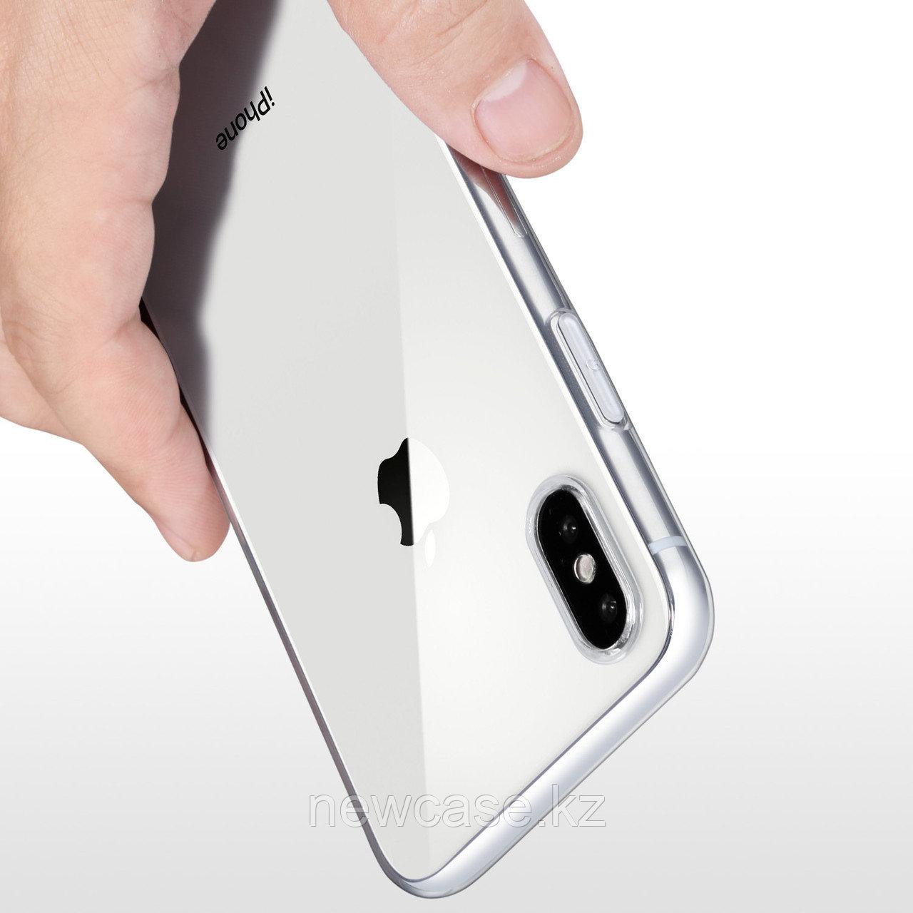 Силиконовый прозрачный чехол для iPhone 5/6/7/8/X/XR/XS Max/11/11 Pro/11 Pro Max - фото 3