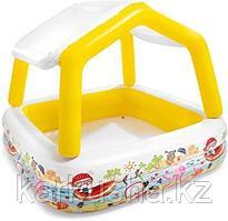 """Детский надувной бассейн """"Домик"""" Intex"""