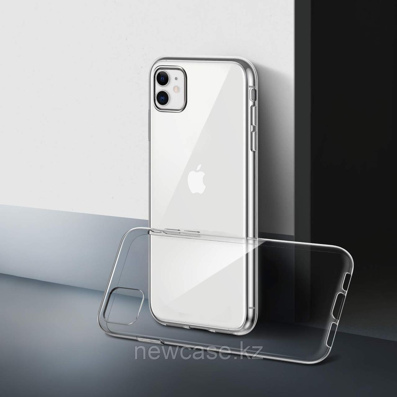 Силиконовый прозрачный чехол для iPhone 5/6/7/8/X/XR/XS Max/11/11 Pro/11 Pro Max - фото 1