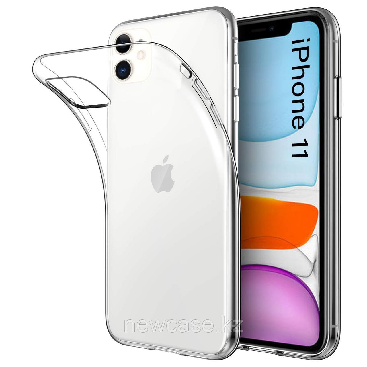 Силиконовый прозрачный чехол для iPhone 5/6/7/8/X/XR/XS Max/11/11 Pro/11 Pro Max - фото 2