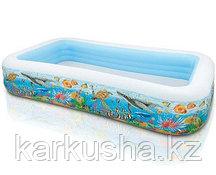 """Детский надувной бассейн """"Тропический риф"""" Intex"""