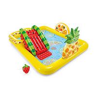 """Детский надувной бассейн-игровой центр """"Фрукты"""" Intex"""
