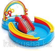 Детский надувной бассейн-игровой центр Intex