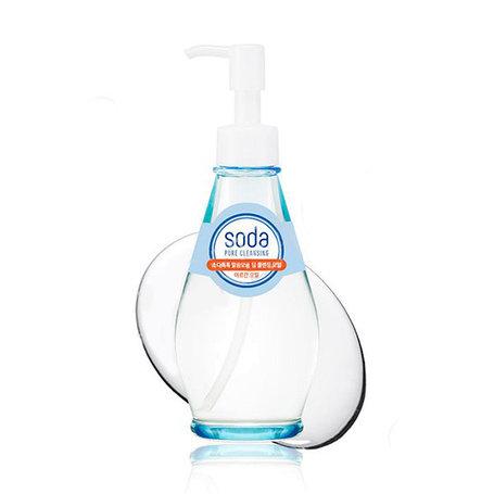 Очищающее гидрофильное маслоHolika Holika Soda Tok Tok Clean Pore Deep Cleansing Oil (150мл), фото 2
