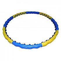 Обруч для похудения массажный Dynamic Hoop JS-6018 (вес - 2 кг), фото 2