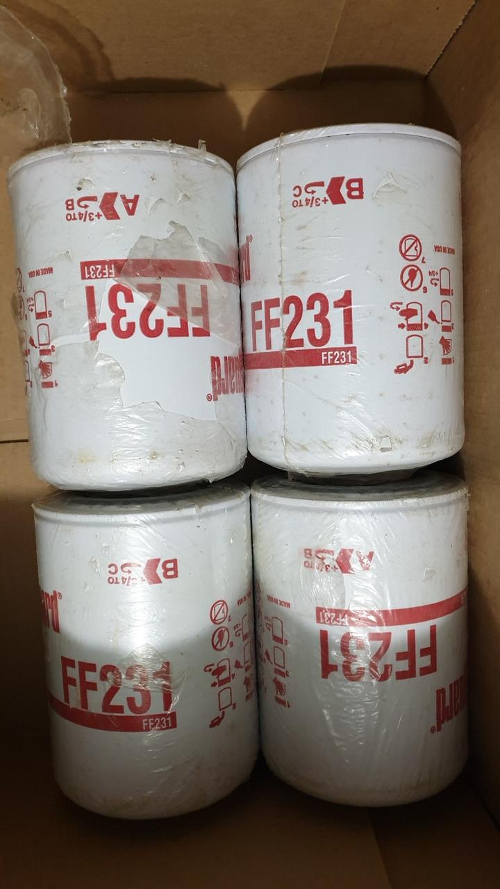 D93/H142(M16x1.5-6H INT) Fleetguard FF231 Топливный фильтр