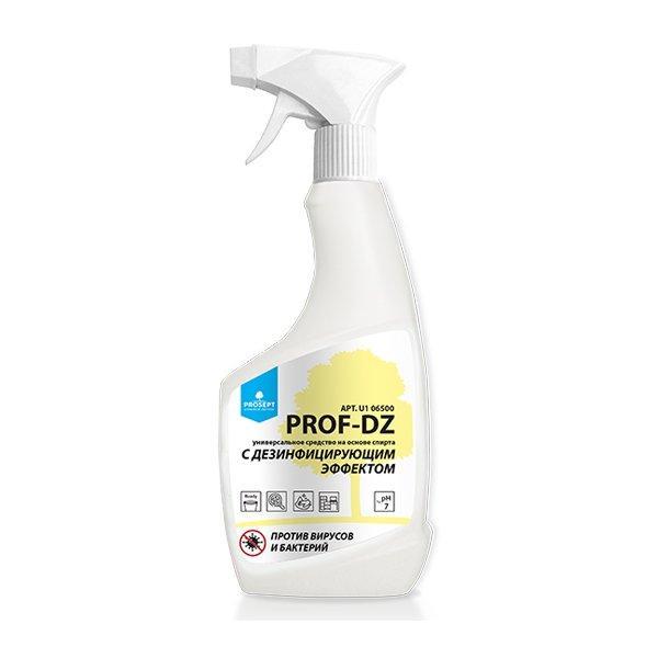 Универсальное средство с дезинфицирующим эффектом PROSEPT UN-DZ  (на основе спирта), 500 мл