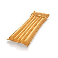 Пляжный матраc для плавания Gold (Золото) 183 х 69 см  BESWAY  44044