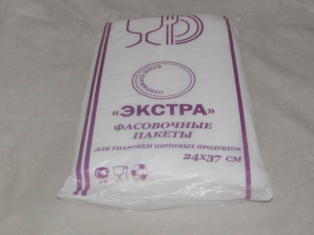 Пакет фасов. ПНД 24х37см (евроуп.), 10мкм, 1000 шт