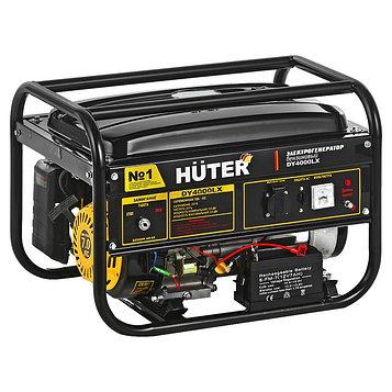 Генератор Huter DY4000LX, бензиновый, 3/3.3 кВт, 15 л, 220 В, электростартер