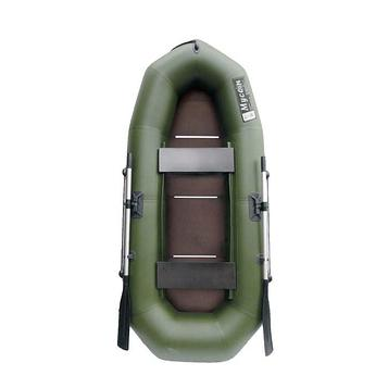 Лодка «Муссон» R-260 С слань, цвет олива