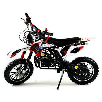 Мини кросс бензиновый MOTAX 50 cc, с электростартером, бело-красный