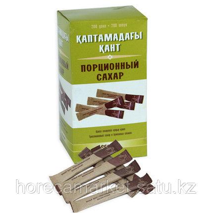 Сахар коричневый в пакетике 2x11 см (200шт), фото 2