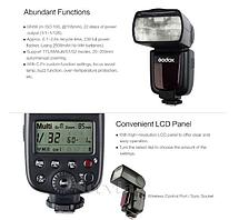 Godox TT660 Универсальная вспышка с ручным зумом для Canon, Nikon, Pentax, Panasonic, DSLR, фото 3