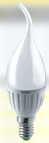 Лампа NLL-P-FC37-5-230-6,5K-E14-FR 61 251 Navigator