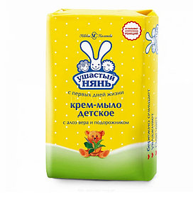 Крем-мыло Ушастый нянь с алоэ 90 гр