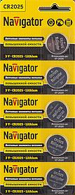 Элемент питания NBT-CR2025-BP5 94 764 Navigator
