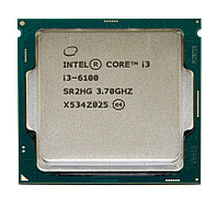 Процессор Intel S-1151 Core i3-6100 (3,7GHz) 2c/4th 3mb Cache Skylake oem_