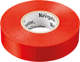 Изолента NIT-B15-10/R красная 71 230 Navigator