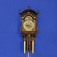 Амстердамские настенные часы с лунным календарем I половина XX века