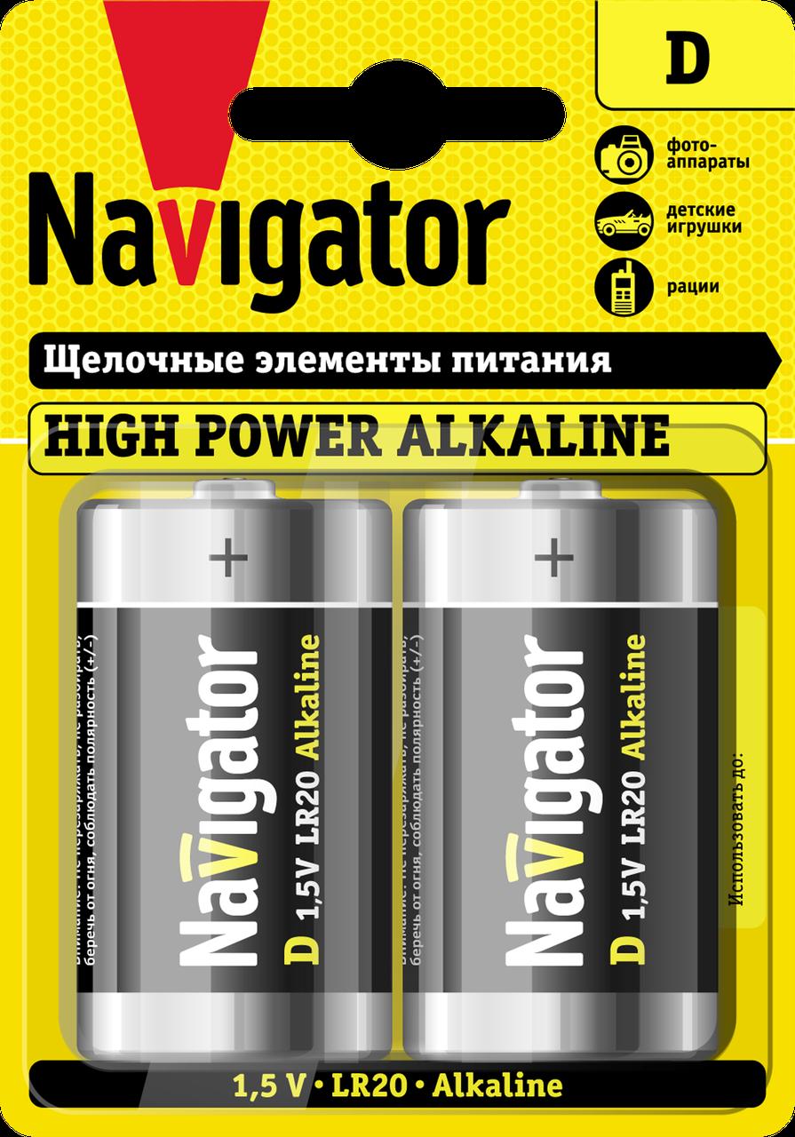 Элемент питания NBT-NE-LR20-BP2 94 755 Navigator