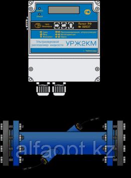 Расходомер Логика УРЖ2КМ модель 2 DN15 (Одноканальный)