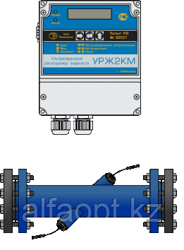 Расходомер Логика УРЖ2КМ модель 2 DN20 (Одноканальный)