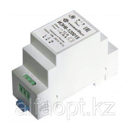 Сетевой линейный источник питания с фильтром сетевых помех ИЭН6–120015 (12В, 150мА) для питания ТВ7М