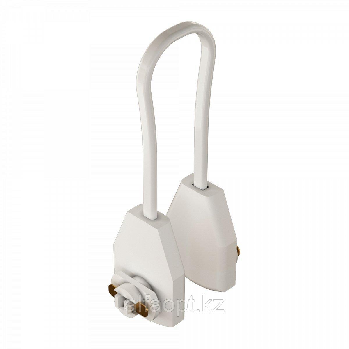 Соединитель гибкий кабельный Geniled для однофазного шинопровода (Белый)