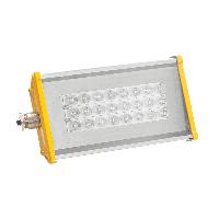 Взрывозащищённый светодиодный светильник OPTIMA-1EX-Р-055-55-50 (10МикропризмаПоворотный-кронштейн)