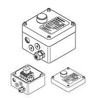 Соединительная коробка со светодиодом JBU-100-L-E (Eex e)