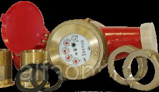 Счетчик воды ВДГ-М 150°(с присоед.) многоструйный (Ду50)