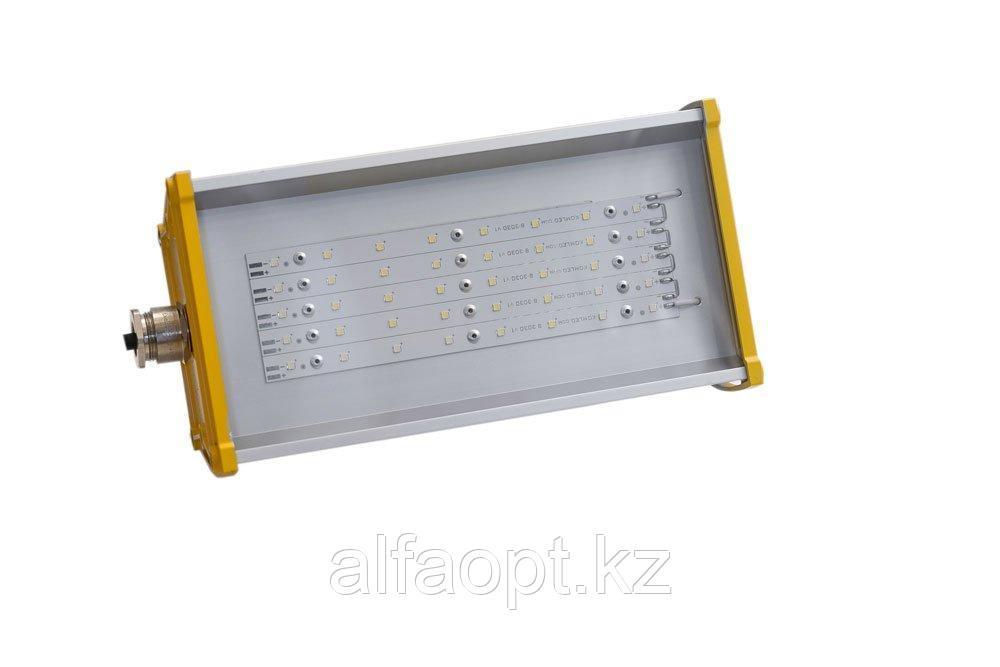 Линзованный Взрывозащищённый светодиодный светильник LINE-EX-P-055-70-50 (10Опал)