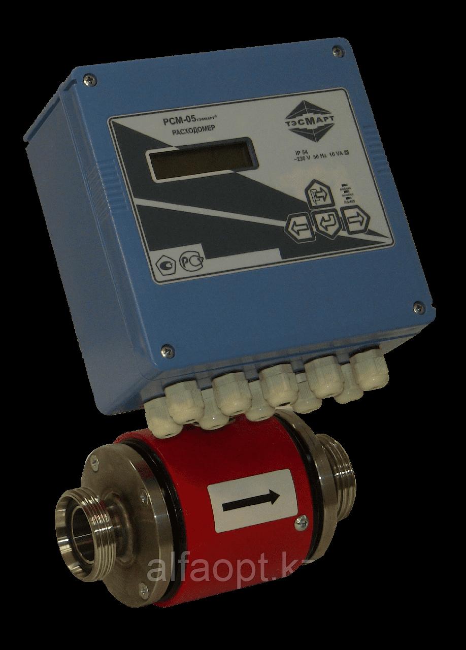 Многоканальный электромагнитный расходомер ТЭСМАРТ-РП Ду65 RS232 (2Р; резьба)