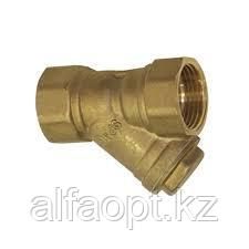 Фильтр грубой очистки Ду-15 осадочный сетчатый, муфтовый (латунь)