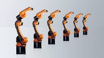 Промышленный робот Kr Cybertech ARC nano с нагрузкой 6-8 кг